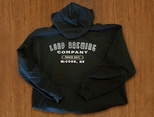 Sweatshirts - Loop Brewing Company - McCook, NE