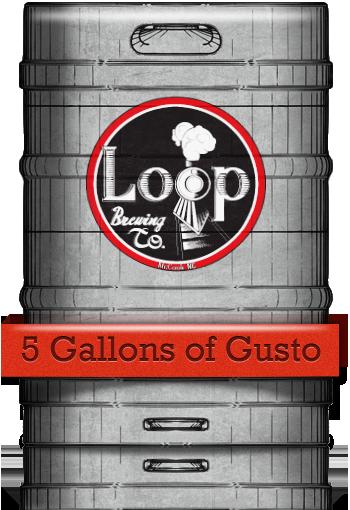 Kegs at Loop Brewing Company - McCook, NE