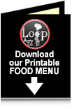Loop Brewing Company Food Menu - McCook, NE